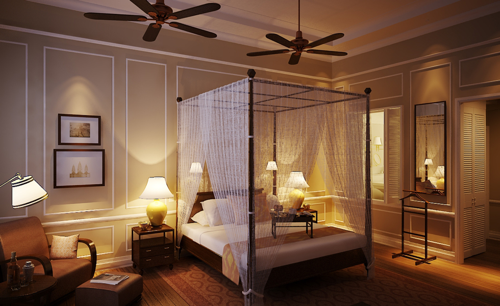 Colonial Chic Room