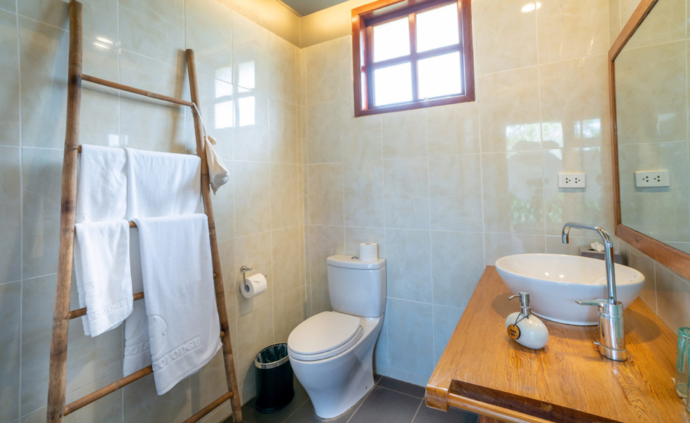 Premium Executive Bungalows, Bathroom