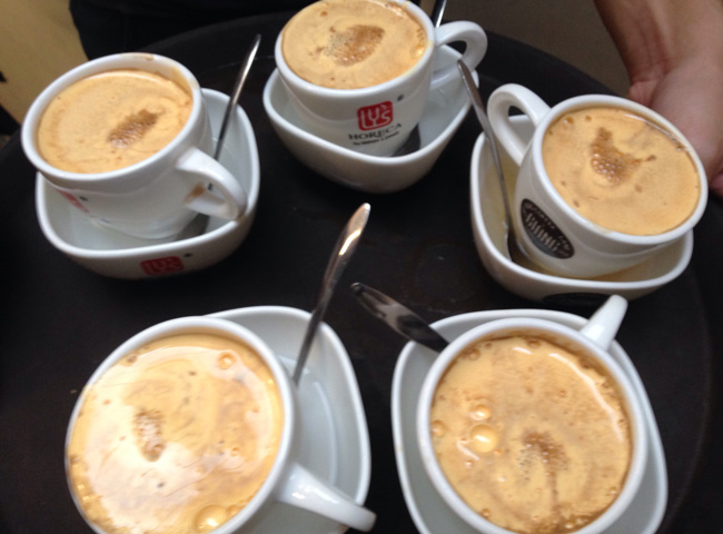 Egg Coffee in Hanoi: Cafe Giang