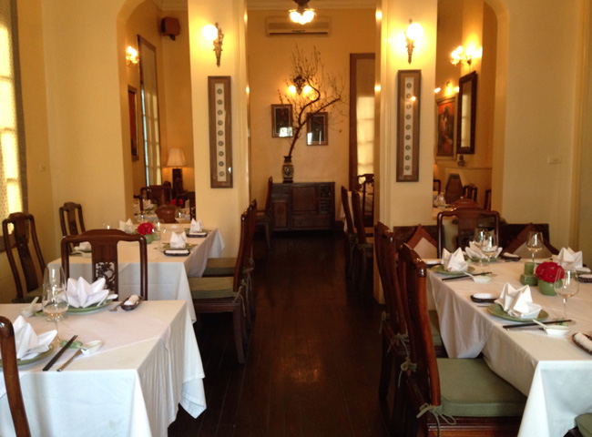 Fine Dining Restaurants in Hanoi