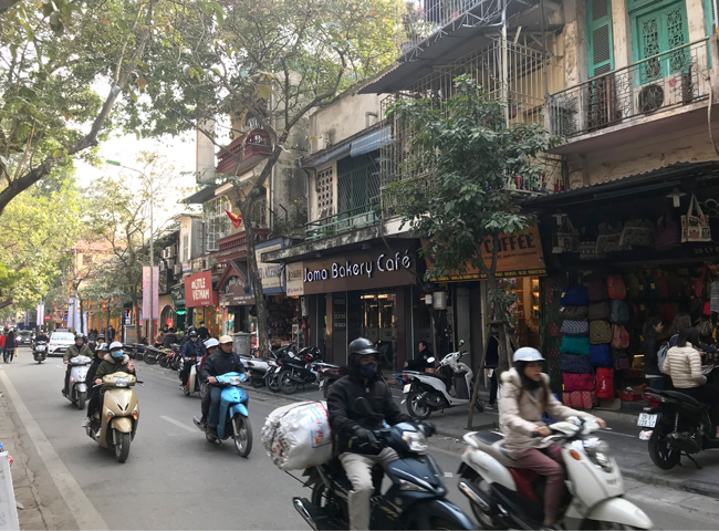 The Old Quarter of Hanoi