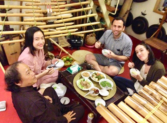 Home-hosted Dinner with a Musician Family