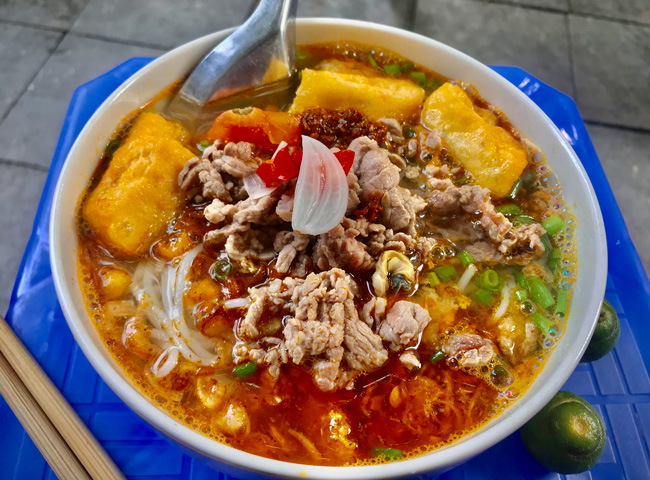 Where to Find the Best Bún Noodle Dish in Hanoi