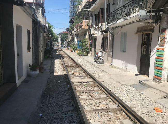 The Remarkable Hanoi Train Street